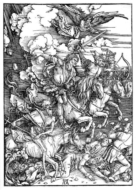 Apokalypsens firer av Albrecht Dürer